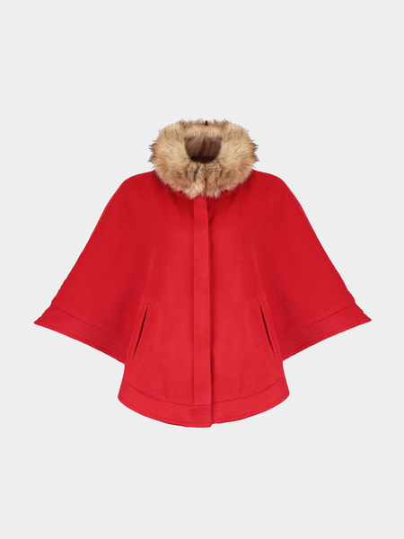 Red Cape Removable Collar
