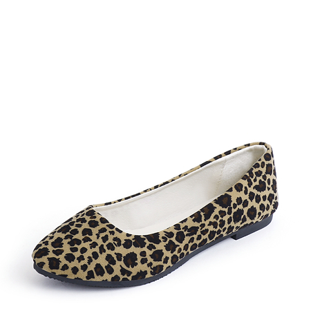 Leopard Pattern Casual Slip-on Flats