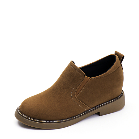 Brown Fashion Suede Ankle Boots