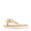 Vocation Flower Decoration Slippers in White