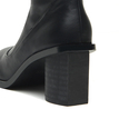 Heel Over The Knee Leather-look Boots