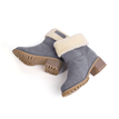 Grey Antiskid Fur Lined Warm Boots