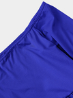 Off Shoulder High Elastic Maternity Photography Maxi Dress in Blue