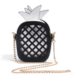 White Pineapple Shape Fashion Crossbody Bags