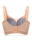 Nude Wireless Mesh Full Up Breathable Bras