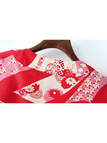 3/4 Length Sleeves Open Front Kimono in Printing